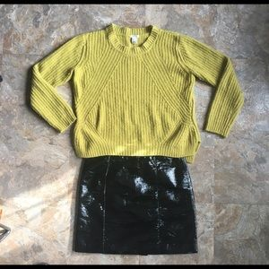 Forever 21 Chartreuse Sweater